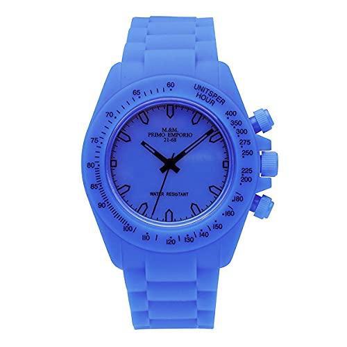 M&M PRIMO EMPORIO Reloj digital unisex de goma 1001B