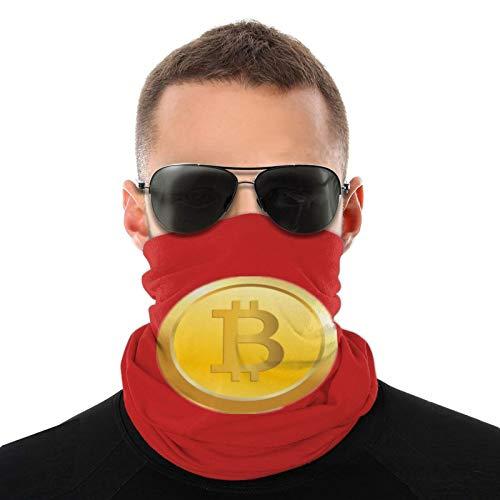 ZVEZVI Bitcoin Png bufanda tubular para hombres y mujeres mascarilla turbante pasamontañas sombreros multifuncionales calidez para el cuello 20 * 10 Pulgadas