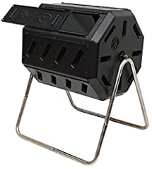 The original 8 sided dual chamber tumbling composter. Beware imitations. Tumbling composter – avoid digging and mixing your compost pile by hand. The tumbling design makes mixing easy and efficient. Just close the door and turn it 5-6 times every 2-3...