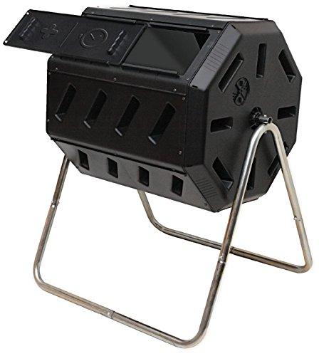 Learn More About FCMP Outdoor IM4000 Tumbling Composter, 37 gallon, Black