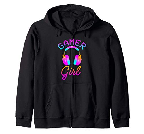 Gamer Girl Lindo Juego Regalo Para Niñas Jugadores Juegos Sudadera con Capucha