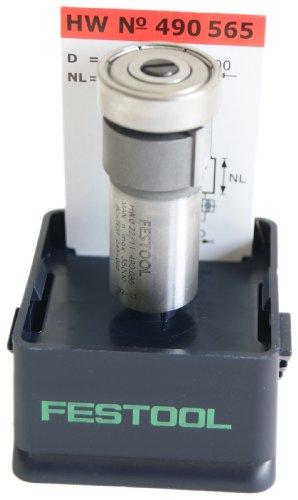 Festool 490565 HM Bündigfräser HM/KLS D22/8-OKF