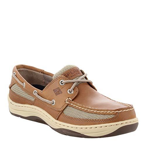 Sperry Top-Sider Men's Tarpon 2-Eye Boat Shoe Dark Tan, 10