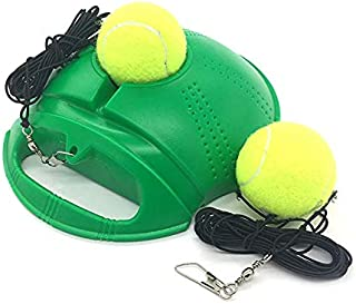 Top Tennis Trainer Rebounder Ball - 2020 Model - Solo Tennis Practice Trainer Gear - #1 Complete Tennis Training Exercise Ball Equipment Kit with 2 Return Elastic Strings, 2 Balls & Sturdy Base