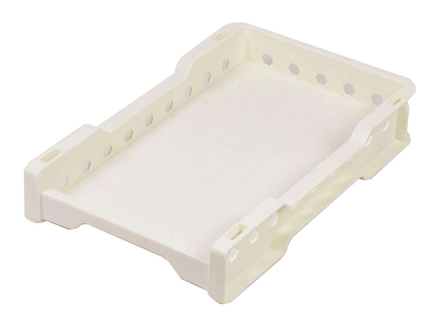 ふざけたインカ帝国天窓パール金属 デコレ スタッキング ラック 専用 トレー スリムS ホワイト HB-814