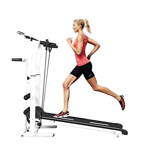 Yuahwyehe Caminadora para Andar Manual Plegable,Caminadora Electrica Niveles Ajustables Fitness Gym