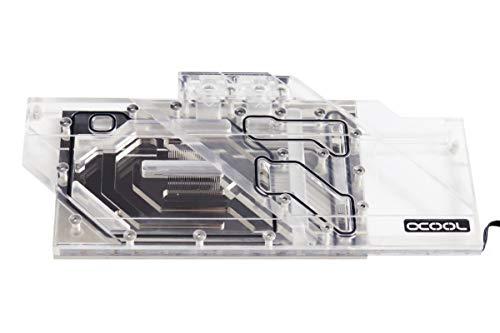 Alphacool 11741 Eisblock Aurora Plexi GPX-N Nvidia Geforce RTX 2080Ti Strix Wasserkühlung GPU - Kühler