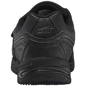 Avia Avi-Tangent Strap Mens Walking Shoes (10 4E (X-Wide), Black/Iron Grey)