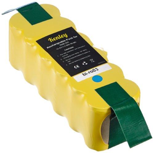 Lavolta bi-ro03 - Batteria ad elevata capacità, per aspirapolvere della serie iRobot Roomba 500/510/520/530/555/560, da 14,4 V o 4,5 Ah