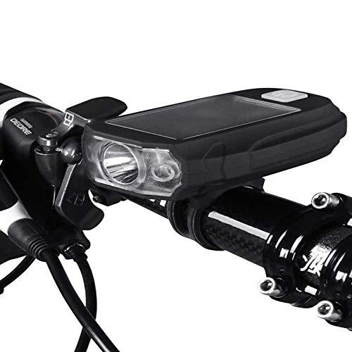 dingtian Luz Bicicleta Luces De Bicicleta Faros De Montaña Accesorios para Bicicletas Solares Carga Rápida De Cuentas De Lámpara USB Led X P G