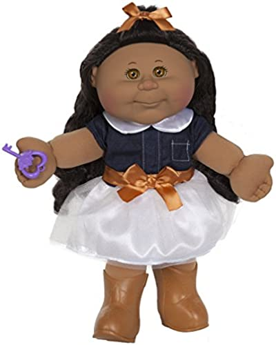Cabbage Patch Kids 14  Doll  African American, braun Eyes (Trendy)