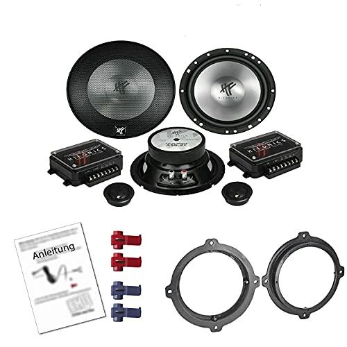 Hifonics AS 6.2C Lautsprecher mit Einbauset passend für Hyundai i30 (PD1) ab...