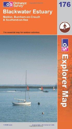 OS Explorer map 176 : Blackwater Estuary