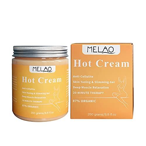 Crème raffermissante, Graisses minceur crème chaude anti, Gel de massage brûle, Cellulite brûle, Graisse crème amincissante de massage crème anti, Cellulite chaude pour le corps.