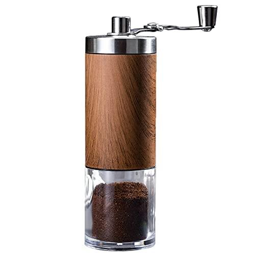 Ręczny Młynek Do Kawy Przenośna Korba Ręczna Ekspres Do Kawy Młynek Ręczny Z Regulowaną Grubością Do Domu, Biura Lub Podróży