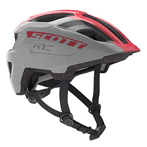 Scott 275232, Casco de Bicicleta Unisex para niño, Vogue Silver, Talla 1