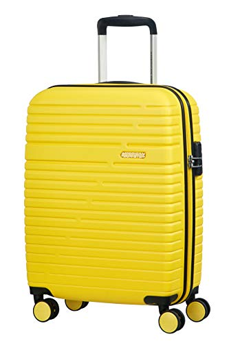 American Tourister Aero Racer Spinner 55 - 2,5 Kg Hand Luggage, cm, 37 liters, Yellow (Lemon Yellow)