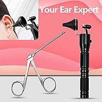 耳内視鏡耳垢の除去ハートマンマイクロアリゲータークロコダイル鉗子耳かき鼻運用クリーナークリップピンセットを選びます (Color : Alligator Forcep)