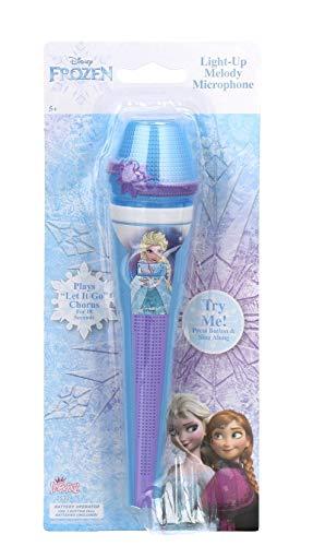 Disney Frozen Elsa Light-Up Melody Microphone, Kids Mic