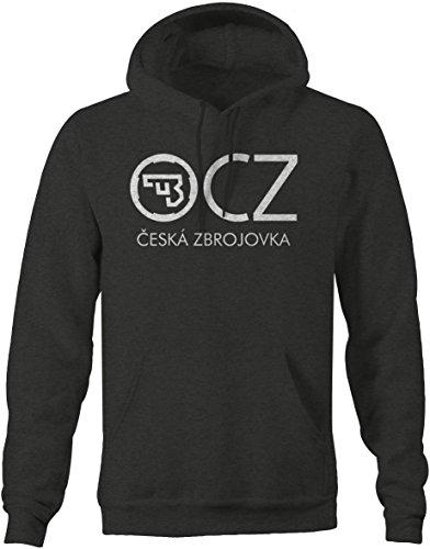 CZ Firearms Performance Mens Sweatshirt - 2XL Charcoal