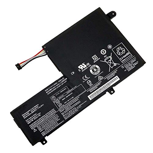 Hubei 11.1V 45Wh L14M3P21 L14L3P21 Replacement Battery for Lenovo Edge 2-1580 FLEX 3-1570 Flex3-14-ALEI xiaoxin 510S Yoga 500 14ISK 500-14IBD
