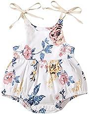 الفتيات الوليد زهرة طباعة جولة الرقبة القوس الدانتيل متابعة مثلث رومبير حلاوة حملة طفلة (Color : White, Kid Size : 24M)