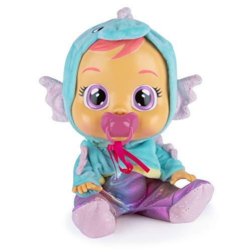 Bebés Llorones Fantasy Nessie - Muñeca Interactiva Que llora de Verdad con Chupete