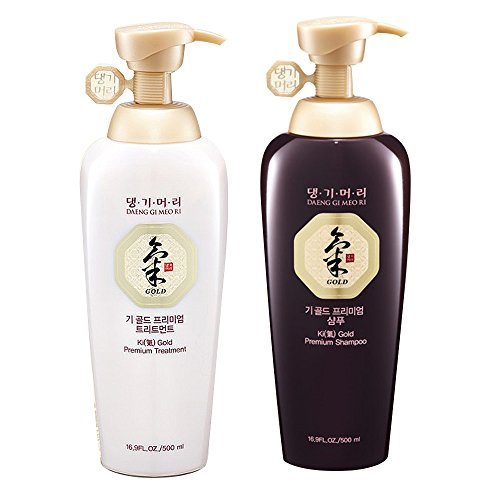 Daeng Gi Meo Ri Ki Gold Premium Shampoo Plus Treatment Set
