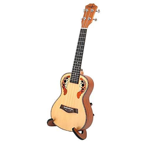 Ukelele Ukelele De Concierto De 23 Pulgadas Ukelele De 4 Cuerdas Guitarra Hawaiana Ingman Spruce Panel Grape Hole