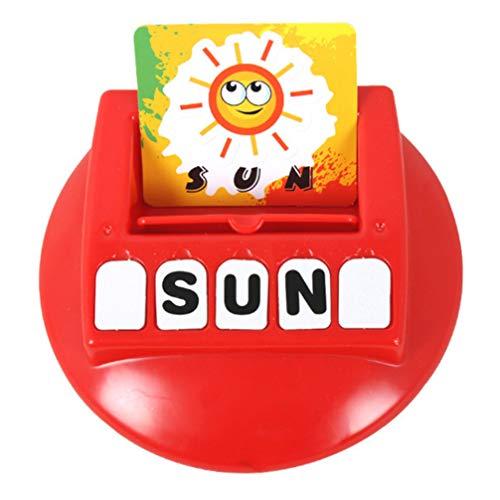 TOYANDONA 63 Stks Geletterdheid Spel Speelgoed Bijpassende Brief Spelling Spel Speelgoed Educatief Alfabet Spel Reizen Leren Vocabulaire Speelgoed Puzzel Speelgoed Voor Kinderen