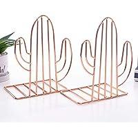 Zeudas Cactus Book Stopper for Shelves