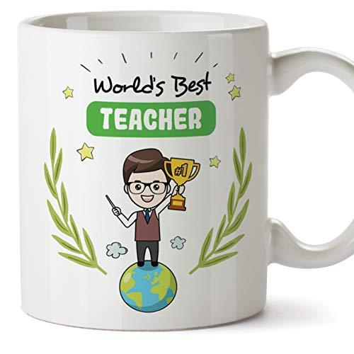MUGFFINS (Taza en inglés) Teacher Original Mug cup - Profesor