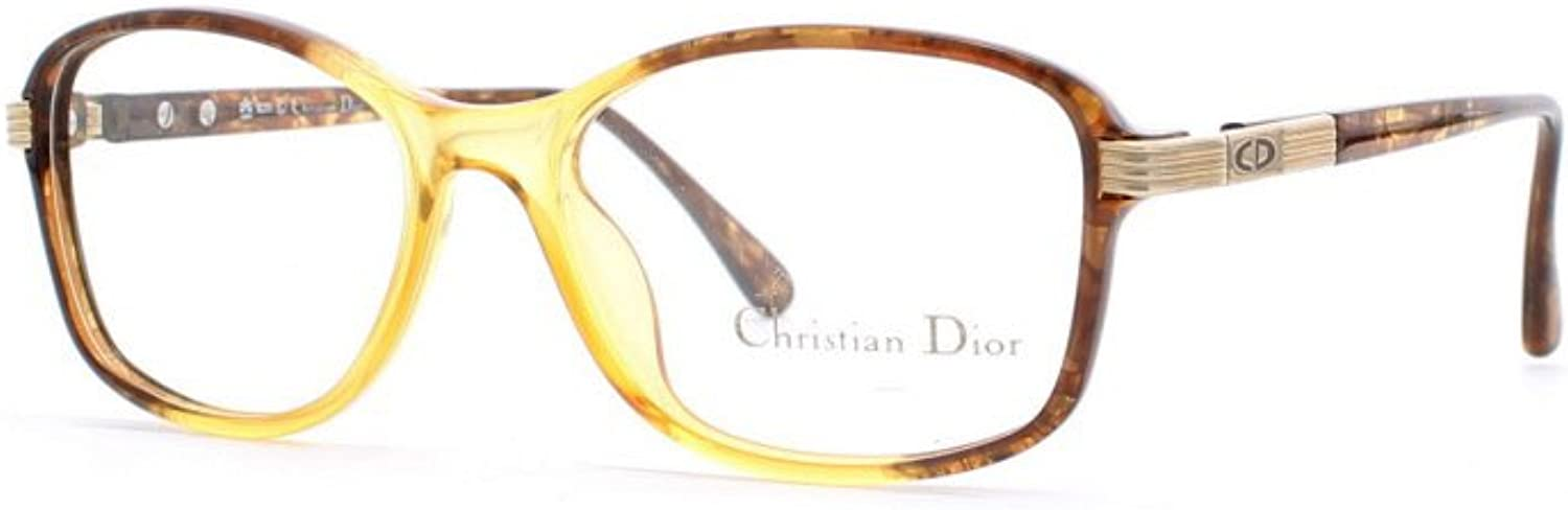 Christian Dior 2655 10 Brown and gold Authentic Women Vintage Eyeglasses Frame