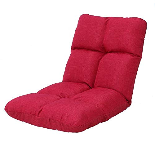 Cxjff Sofá Perezoso, la Cama se Puede Plegar, sofá pequeño Individual, Respaldo de la computadora de la Cama, sofá de Piso (Color : B1)