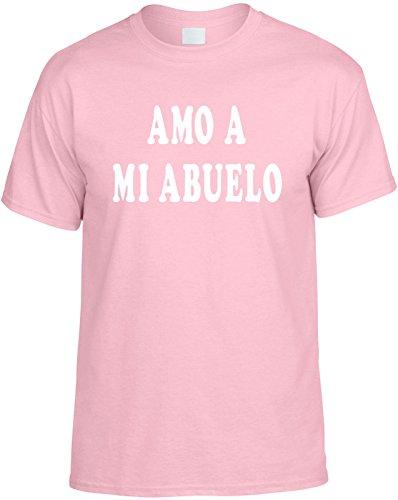 Signature Depot para Hombre Funny T-Shirt (Amo a mi Abuelo (Span: I Love My el Abuelo) Unisex Camiseta para Hombre
