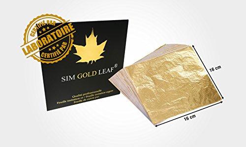 500 Blatt Blattmetall Schlagmetall der Farbe Silber Silver leaf imitation