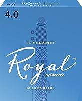 D'Addario Woodwinds/RICO LRICRYECL4 リコ・ロイヤル Eクラリネットリード[4]