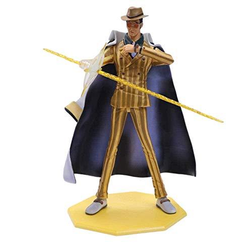 25cm Anime One Piece Retrato de Piratas Borsalino DX Limited Edtion Gk PVC Figura de acción Estatua Colección Decoraciones Modelo Marioneta Regalo