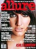Allure Magazine January 2005 Ashlee Simpson