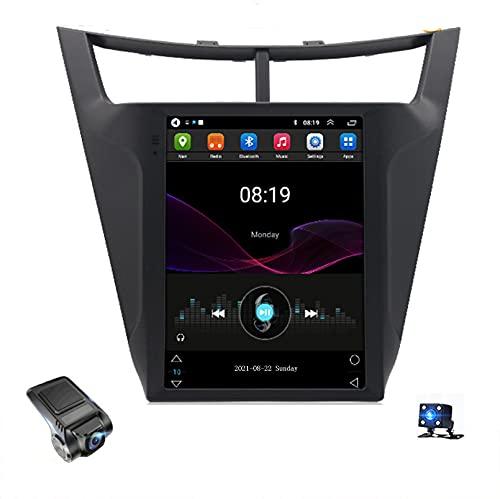 Android 10 Car Radio, Para Chevrolet SAIL 2015-2018 Soporte Reproductor De Video Multimedia Estéreo Bluetooth USB WIFI Navegación GPS Autoradio / Control Del Volante / Dash Cams(Color:WIFI 4G+64G)