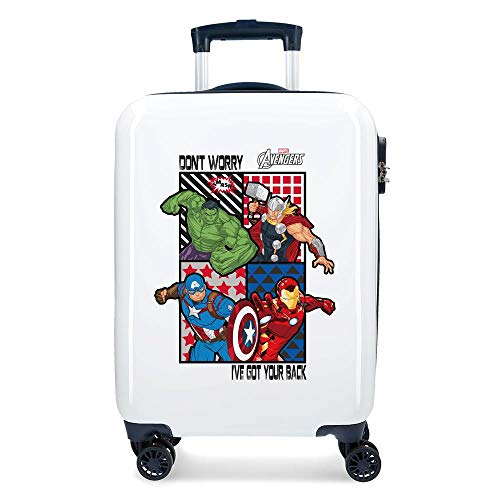 Marvel All Avengers - Maleta de Cabina, Multicolor, 55 cm