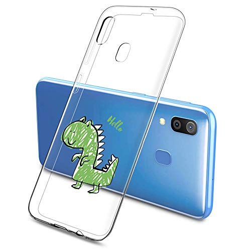 Oihxse Clear Silicone Thin Cascarón Compatible con Xiaomi Mi 6X/Xiaomi Mi A2 Estilo y Hermoso Cristal Transparente Antigolpes Transparente Cute Adecuado para Niños y Niñas