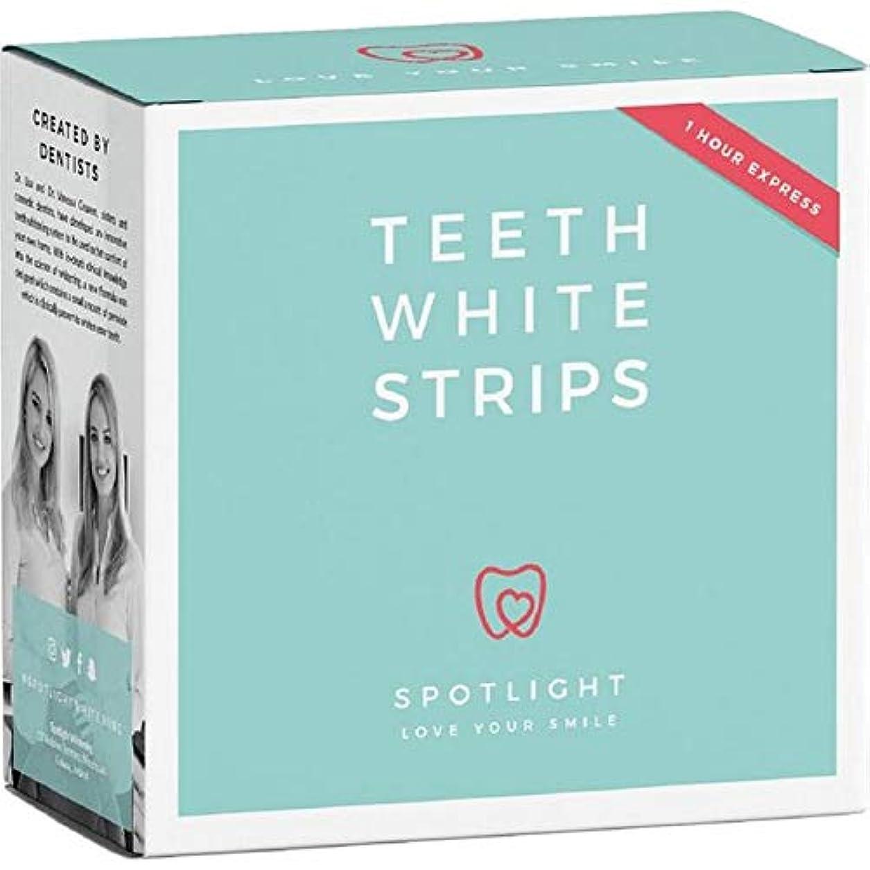 前に商品安定した[Spotlight Teeth Whitening ] スポットライトホワイトニング歯ホワイトストリップ - Spotlight Whitening Teeth White Strips [並行輸入品]