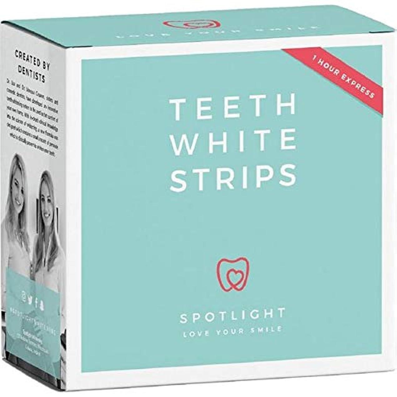 形成優雅なはぁ[Spotlight Teeth Whitening ] スポットライトホワイトニング歯ホワイトストリップ - Spotlight Whitening Teeth White Strips [並行輸入品]