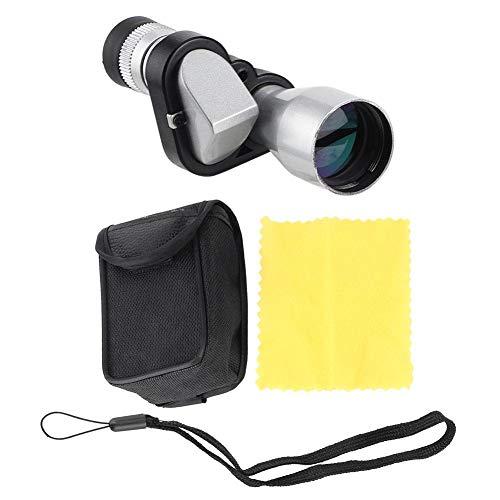 Fafeims 8-voudige zaktelescoop, hoge-resolutie, monokulartelescoop, nachtzicht, compacte telescoop voor het observeren van vogels
