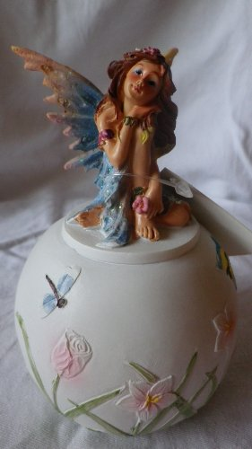 Round Flower Fairy Wildflower Money Box
