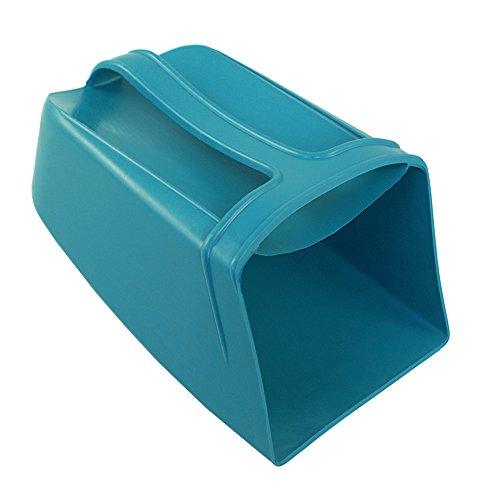 Lalizas - Handlicher und stabiler Bootsschöpfer | Lenzfass | Ösfass aus robusten Polyethylen mit Henkel | Farbe Türkis