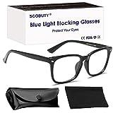 Gafas Luz Azul,Gafas de Computadora,Gafa Antifatiga Anti Luz Azul Gafas para Ordenador Gaming PC para Hombre Mujer