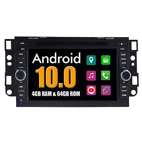 KLL Sistema Android Autoradio GPS para Chevrolet Daewoo Matiz Epica Lova Aveo Captiva Spark Optra con Navegacioacute;n Esteacute;REO Multimedia Bluetooth DVD USB Mirror Link