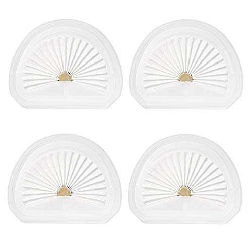 isinlive 4-pack Vacuum Filter Replacement VLPF10 Compatible with Black + Decker HLVA320J00 and N575266 Handheld Vacuum